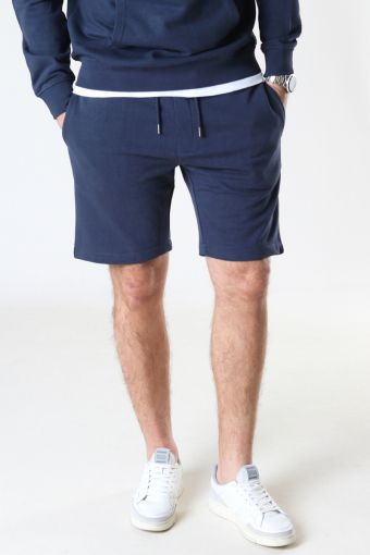 Basic Organic Shorts Navy