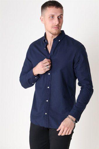 Summer Overhemd L/S Navy Blazer