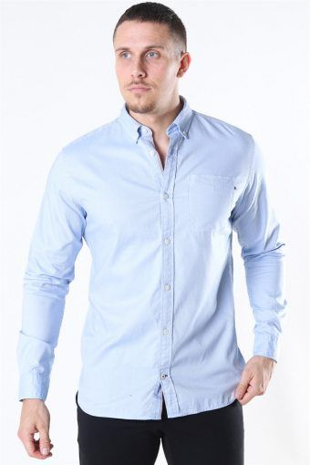 Classic Soft Oxford Overhemd LS Cashmere Blue