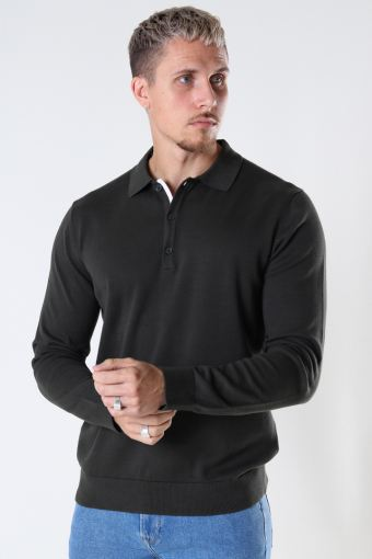 ONSCHRISTOPH LIFE POLO KNIT Peat