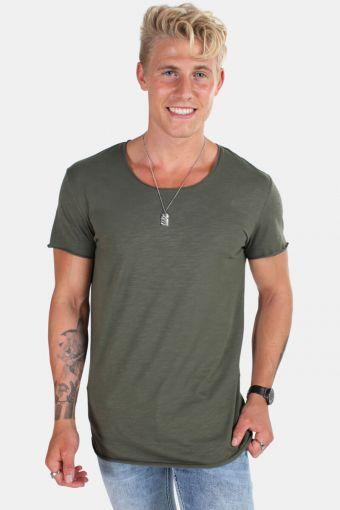 Bas T-shirt SS U-neck Noos Thyme