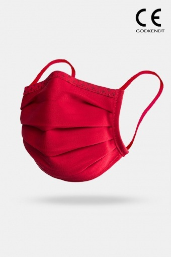 ISchoen Vital Supreme Line Face Cover Red