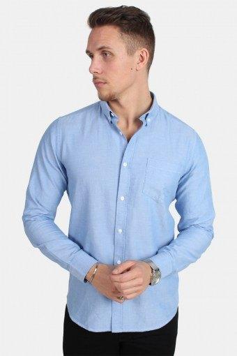 Alvaro LS Overhemd Cashmere Blue
