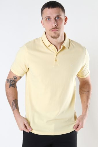 Silkeborg Stretch Polo Pastel Yellow