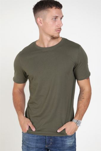 Organic Basic Tee SS O-Neck Noos Olive Night
