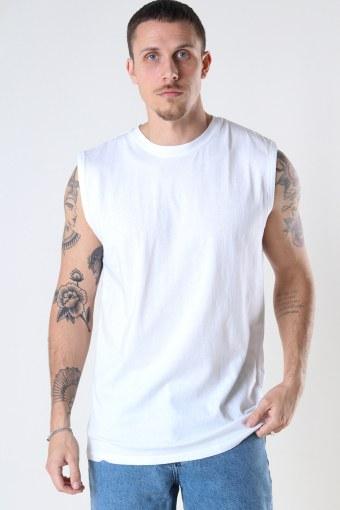 DP No Sleeve Tee 002 White