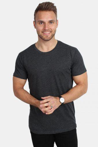 Rock Melange T-shirt Dark Grey Melange