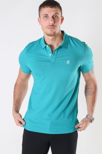 Haro SS Embroidery Polo Quetzal Green