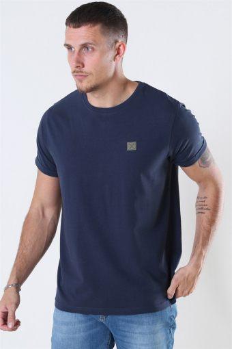 Clean Cut Basic Organic T-shirt Navy