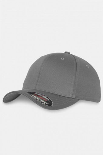 Flexfit Wooly Combed Original Cap Grey