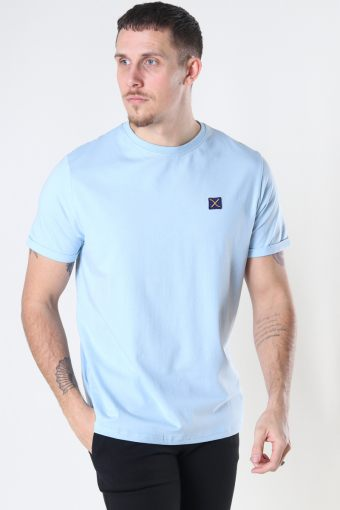 Basic Organic Tee Light Blue