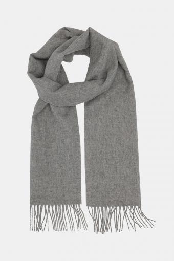 Wool Scarf Light Grey Mel