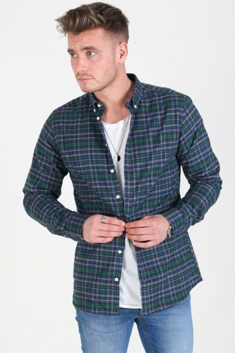 Valence Overhemd Green/Navy