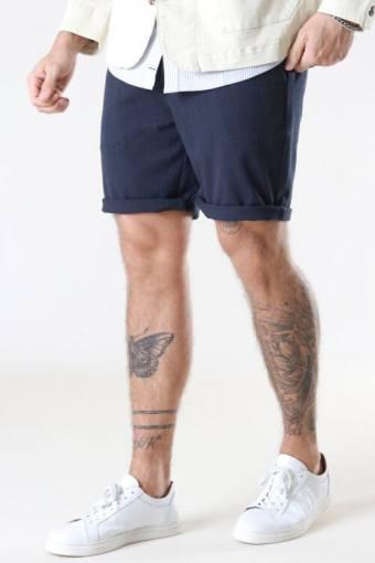 Steffen Mel. Shorts Navy Mel.