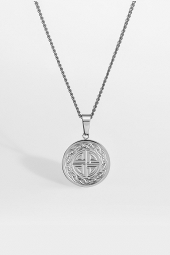 """Knot Ketting """"Silver"""""""