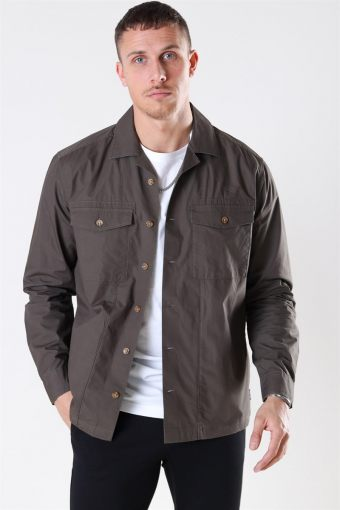 Aiden LS Light Overshirt Olive Night