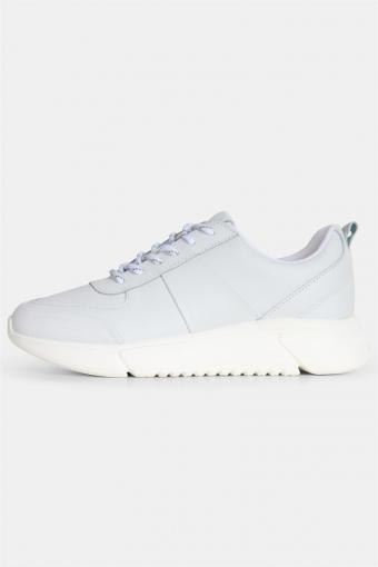 Salonga Leer Sneakers White