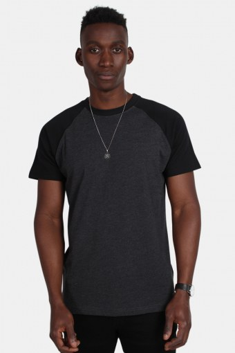 Klokban Classics Tb639 T-shirt Charcoal/Black