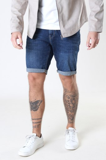 Chris Stretch Shorts 2001 2001 Dark Blue Denim