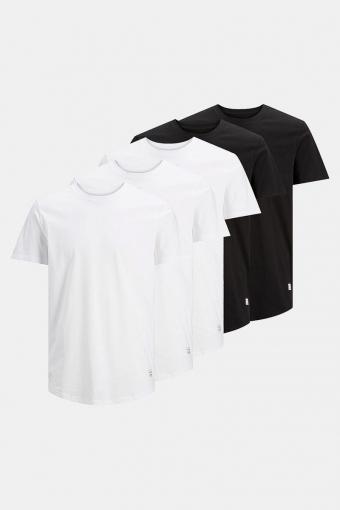 Enoa 5-Pack T-shirt Black/3White