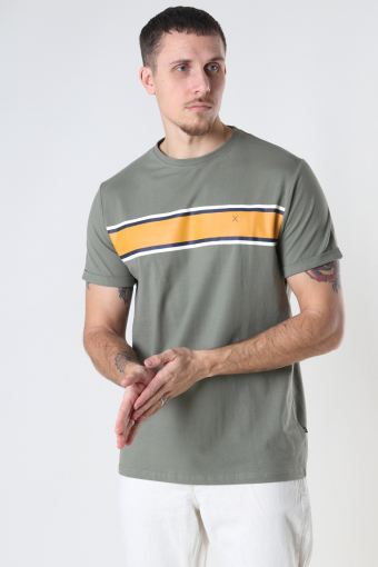 Kiley Organic Tee Dusty Green