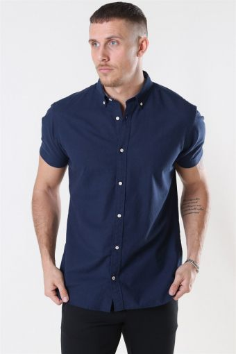Summer Overhemd S/S Navy Blazer