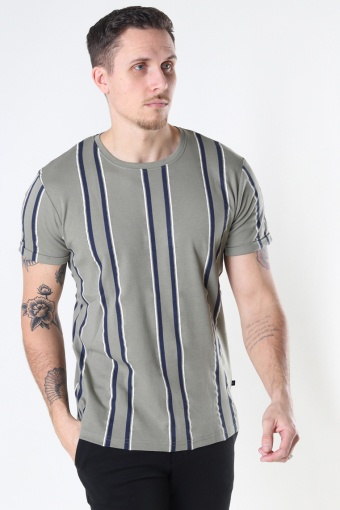 Larry Organic Tee Dusty Green