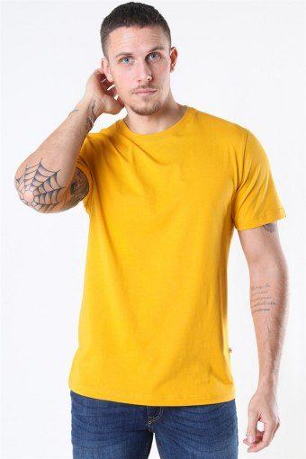 Norman 180 SS O-Neck T-shirt Mango Mojito