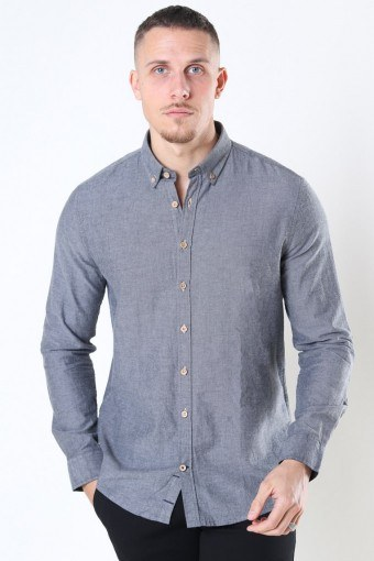 Johan Diego Cotton Overhemd Grey