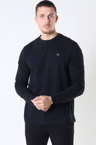 Clean Cut Basic Organic T-shirt LS Black