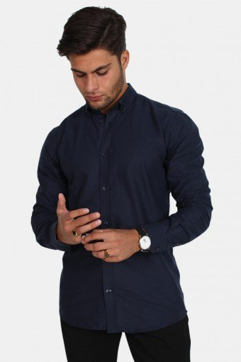 Tailored & Originals New London Overhemd Insignia Blue