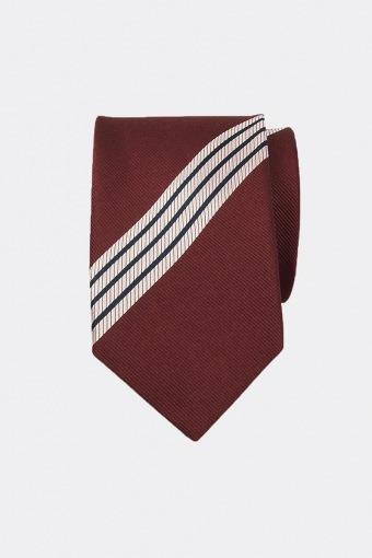 Gestreept Slips N23-4 Hvid/Rød/Sort