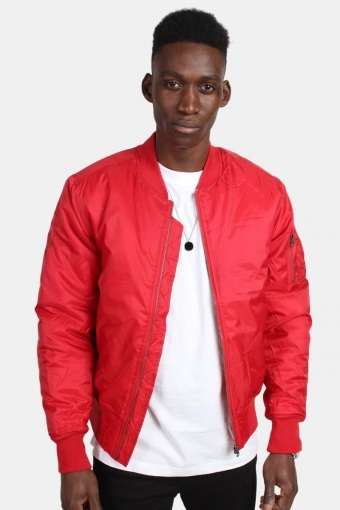 TB861 Basic Bomber Jas Fire Red