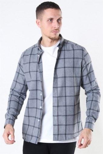 Clean Cut Sälen Flannel 1 Overhemd Grey