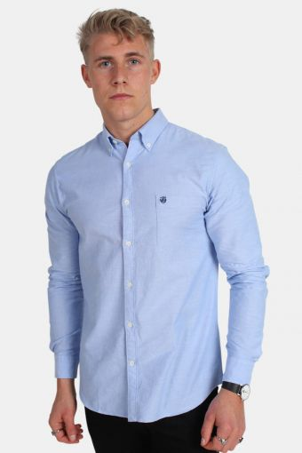 Collect Overhemd Light Blue