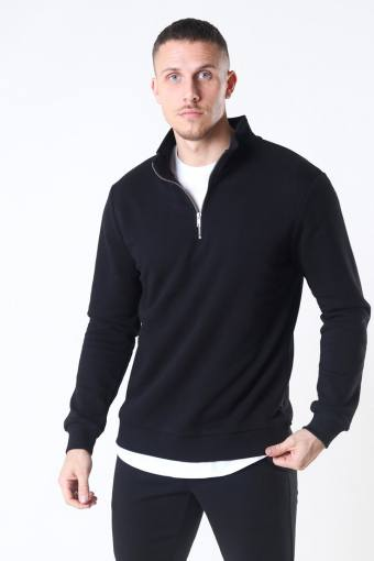 Ceres Life Half Zip Sweat Black
