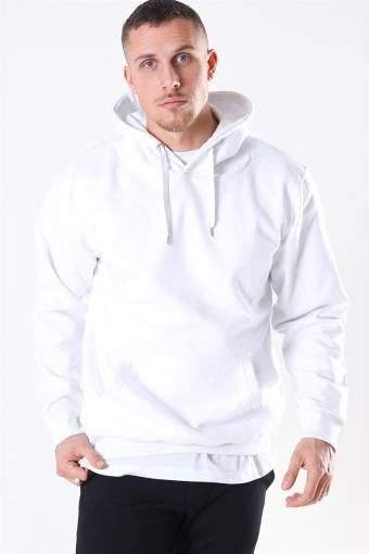 Hooded Sweat White