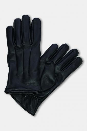 Montana Læder Handschoenen Black