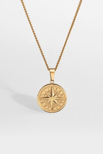 """Compass Ketting 2.0 """"Gold"""""""