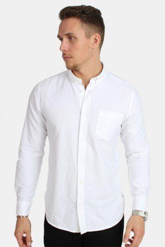 Alvaro LS Overhemd White