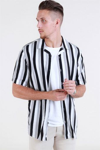 Wayne SS New Striped Overhemd Griffin