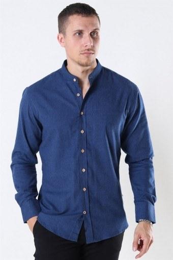 Dean Henley Overhemd Navy