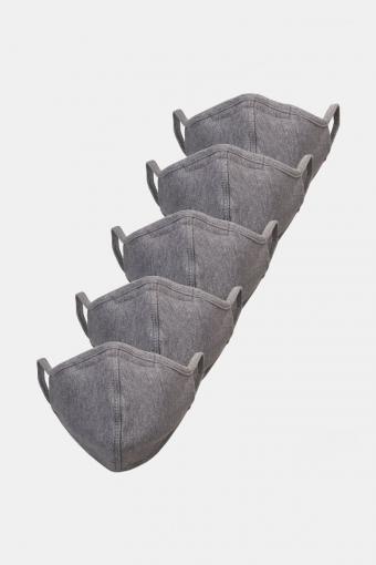 5-Pack Mondstuk Oxford Grey