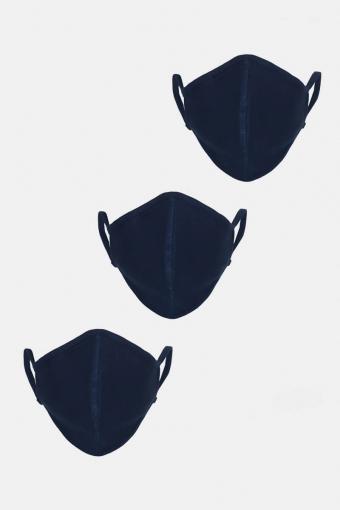 3-Pack Mondstuk Navy