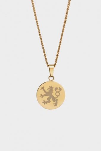 Lionheart Pendant Ketting Gold