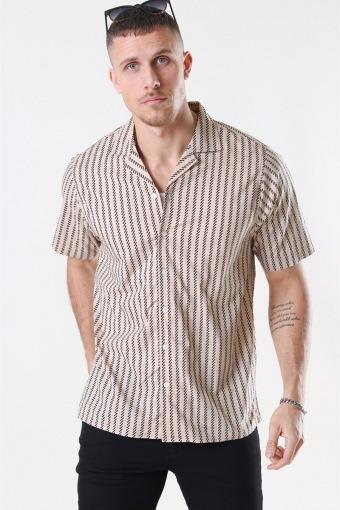 Ross Overhemd S/S Sand