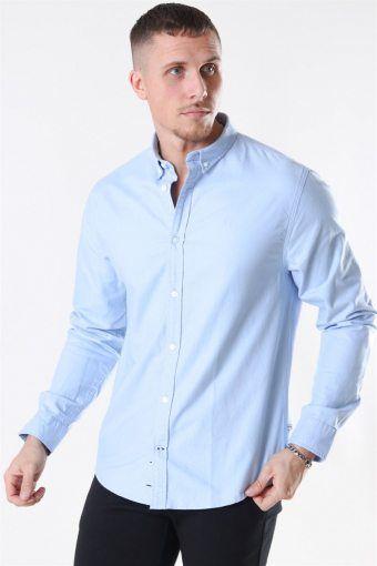 Johan Oxford Washed Light Blue