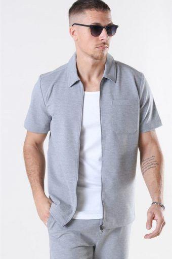 Arrow Shirt S/S Light Grey
