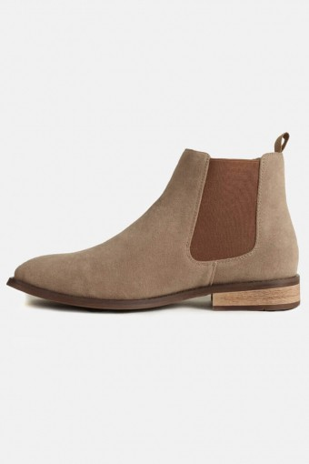 Chelsea Boots Suede Sand