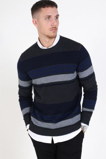 Fast Stripe Breien Maritime Blue